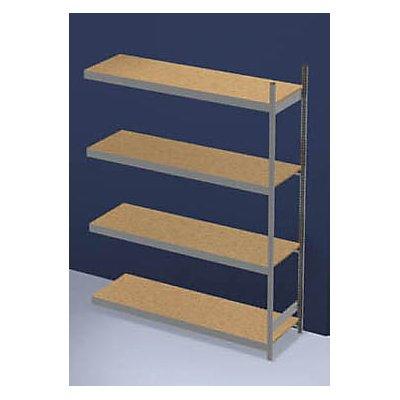 hofe Großfach-Steckregal mit Spanplatten - Höhe 2500 mm, Breite 2000 mm, Feldlast 1750 kg