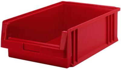 Sichtlagerkasten aus Polypropylen - Inhalt 16,5 l, VE 10 Stk