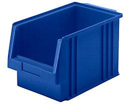 Sichtlagerkasten aus Polypropylen - Inhalt 9,7 l, VE 10 Stk - blau