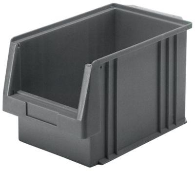 Sichtlagerkasten aus Polypropylen - Inhalt 9,7 l, VE 10 Stk