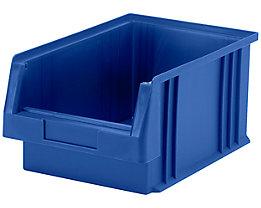 Sichtlagerkasten aus Polypropylen - Inhalt 7,4 l, VE 10 Stk - blau