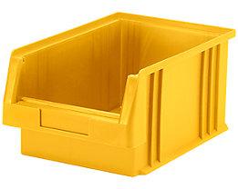 Sichtlagerkasten aus Polypropylen - Inhalt 7,4 l, VE 10 Stk - gelb
