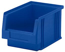 Sichtlagerkasten aus Polypropylen - Inhalt 2,7 l, VE 25 Stk - blau