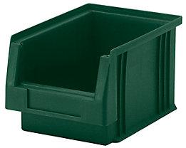 Sichtlagerkasten aus Polypropylen - Inhalt 2,7 l, VE 25 Stk - grün