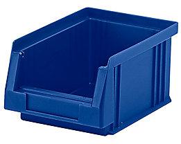Sichtlagerkasten aus Polypropylen - Inhalt 0,7 l, VE 25 Stk - blau