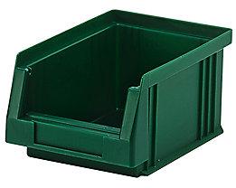 Sichtlagerkasten aus Polypropylen - Inhalt 0,7 l, VE 25 Stk - grün