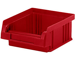 Sichtlagerkasten aus Polypropylen - Inhalt 0,25 l, VE 50 Stk - rot