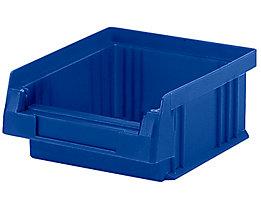 Sichtlagerkasten aus Polypropylen - Inhalt 0,25 l, VE 50 Stk - blau