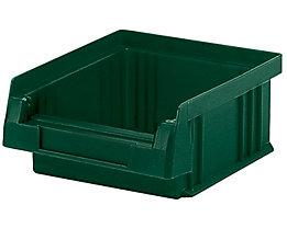 Sichtlagerkasten aus Polypropylen - Inhalt 0,25 l, VE 50 Stk - grün
