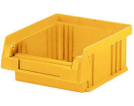 Sichtlagerkasten aus Polypropylen - Inhalt 0,25 l, VE 50 Stk - gelb