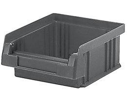 Sichtlagerkasten aus Polypropylen - Inhalt 0,25 l, VE 50 Stk - grau