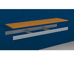 hofe Zusatzfachebene - mit Traversen und Spanplatte - BxT 1500 x 400 mm