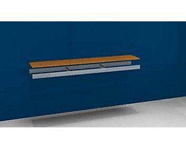 Zusatzfachebene - mit Traversen und Spanplatte - BxT 2000 x 400 mm