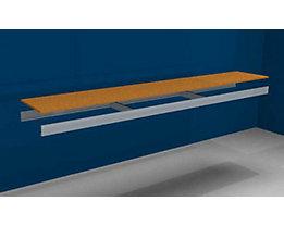 Zusatzfachebene - mit Traversen und Spanplatte - BxT 2500 (2 x 1250 mm) x 400 mm