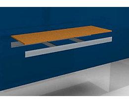 hofe Zusatzfachebene - mit Traversen und Spanplatte - BxT 1500 x 500 mm