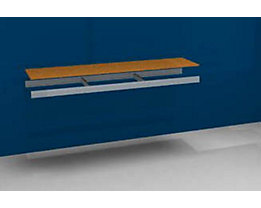 Zusatzfachebene - mit Traversen und Spanplatte - BxT 2000 x 500 mm
