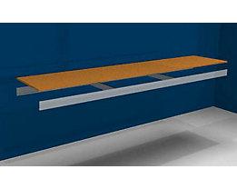 Zusatzfachebene - mit Traversen und Spanplatte - BxT 2500 (2 x 1250 mm) x 500 mm