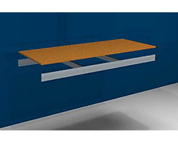 Zusatzfachebene - mit Traversen und Spanplatte - BxT 1500 x 600 mm