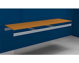 Zusatzfachebene - mit Traversen und Spanplatte - BxT 2250 (2 x 1125 mm) x 600 mm