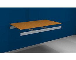 Zusatzfachebene - mit Traversen und Spanplatte - BxT 1500 x 800 mm