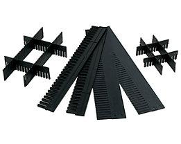 Unterteiler für Sichtlagerkasten - LxH 1150 x 80 mm - VE 10 Stk