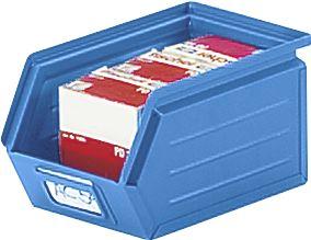 Sichtlagerkasten aus Stahlblech - Inhalt 2,6 Liter
