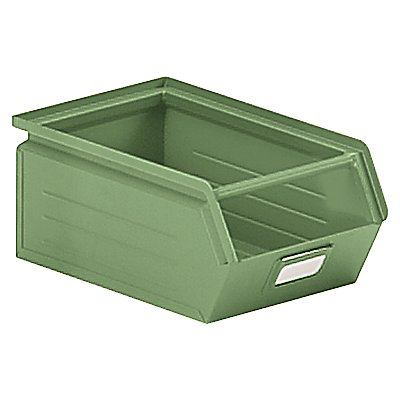 Sichtlagerkasten aus Stahlblech - Inhalt 7,2 Liter