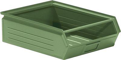 Sichtlagerkasten aus Stahlblech - Inhalt 16 Liter