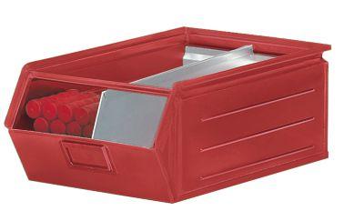 Sichtlagerkasten aus Stahlblech - Inhalt 23 Liter