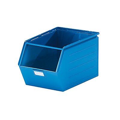 Sichtlagerkasten aus Stahlblech - Inhalt 37 Liter