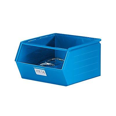 Sichtlagerkasten aus Stahlblech - Inhalt 55,5 Liter