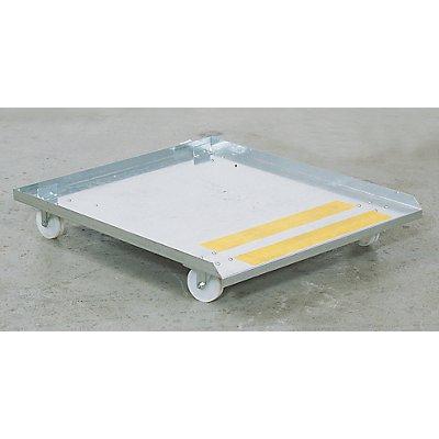 Rollwagen - für BIO-Reinigungstisch KOMPAKT - LxB 890 x 750 mm