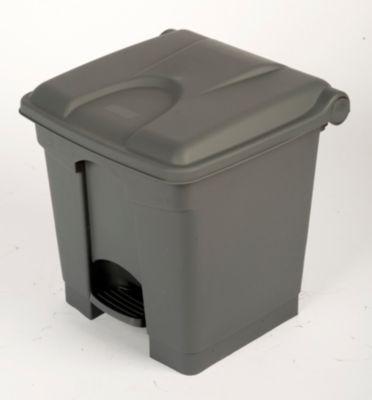Kunststoff-Tretabfallsammler - 30 Liter Volumen