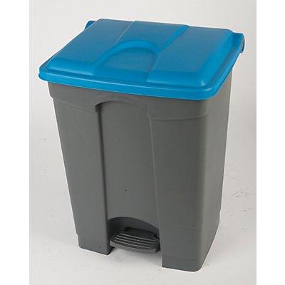 Kunststoff-Tretabfallsammler - 70 Liter