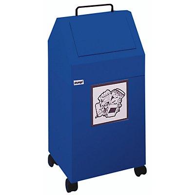 stumpf Wertstoffbehälter, 45 l Inhalt - fahrbar
