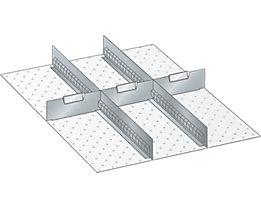 Trennwand - für Schrankmaße 564 x 725 mm - für Schubladenhöhe 100 mm