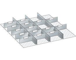 Trennwand - für Schrankmaße 717 x 725 mm - für Schubladenhöhe 150 mm