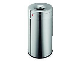 Corbeille à papier ignifuge PROFILINE SAFE WALL - capacité 50 l