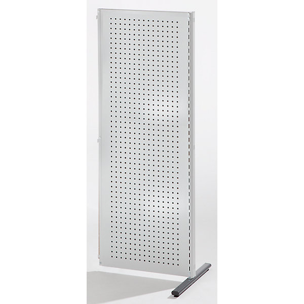 Image of ANKE Industrie-Trennwandsystem - Anbauelement Breite 760 mm - lichtgrau