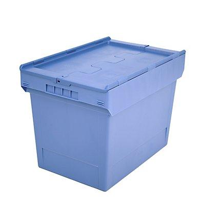 Mehrweg-Stapelbehälter mit Klappdeckel - Inhalt 74 l