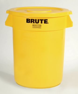 Rubbermaid Universalcontainer, rund - Inhalt ca. 121 l, Beschichtung lebensmittelecht