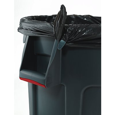 Rubbermaid Universalcontainer, rund - Inhalt ca. 75 l - blau