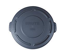 Kunststoffdeckel - mit Schnappverschluss, stapelbar - für 75-l Tonne, grau