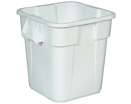 Rubbermaid Universalcontainer, quadratisch - Inhalt ca. 105 l - weiß