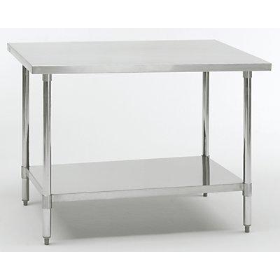 table de travail en inox hauteur de travail 850 mm. Black Bedroom Furniture Sets. Home Design Ideas