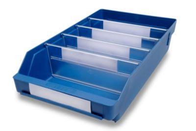 Regalkasten aus hochschlagfestem Polypropylen - blau