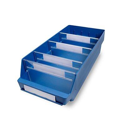 STEMO Regalkasten aus hochschlagfestem Polypropylen - blau