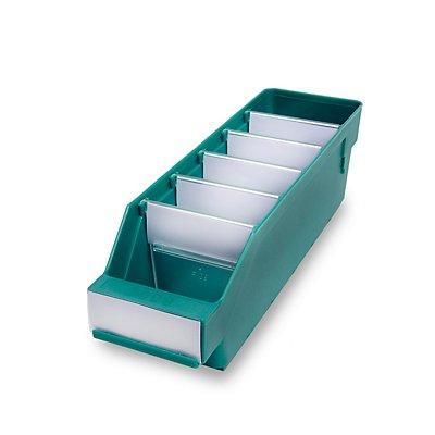 STEMO Regalkasten aus hochschlagfestem Polypropylen - grün
