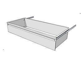 Schublade für Regal-Schranksystem - Höhe 175 mm - für Regaltiefe 400 mm