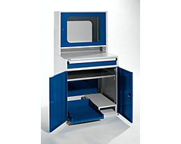 QUIPO Armoire pour ordinateur - h x l x p 1600 x 800 x 695 mm